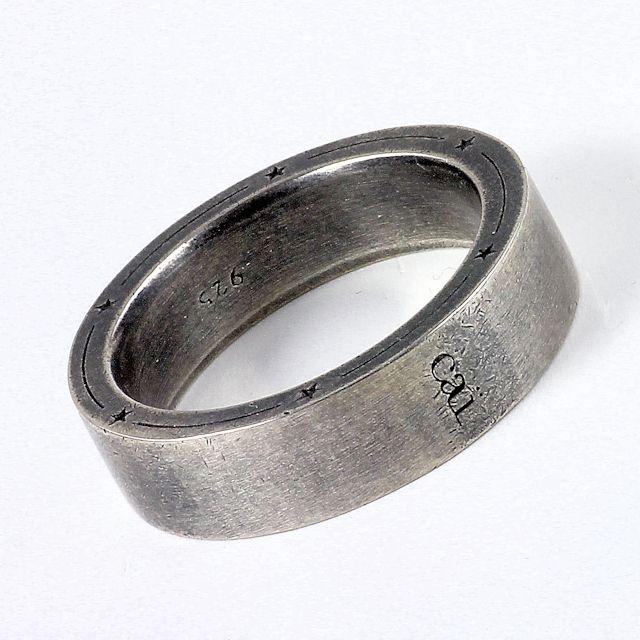 Herrenring  NEU cai men Herren-Ring Silber 925 vintage-oxidized C4032R90/00/61 ...